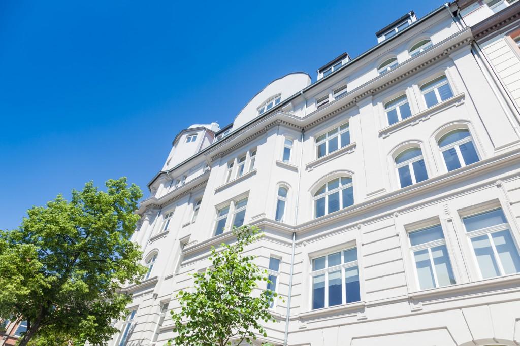 nobles Haus und Bume in Deutschland